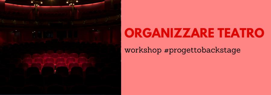 Organizzare teatro